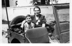 The war ended - my mother & I in Warsaw 1945-6