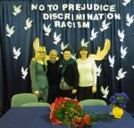 with teachers Yvonne Saleta, Renata Wilczynksa and Agnieszka Galaszewska