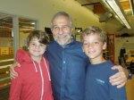 with Hayden and Drew
