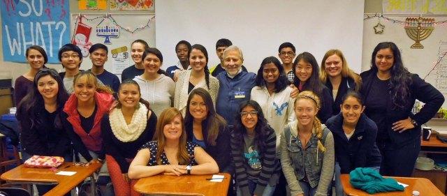 group with teacher Dana Pattison