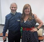with teacher Dana Pattison