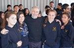 Front row: with Isabel, Katia, Fatima and Graciela