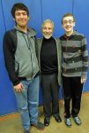 with Jacob and Jason - thank you for your Holocaust video
