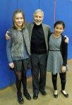 with Evelina and Viva