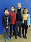 with Ethan, Dylan and Morgan - siblings together at KMVA