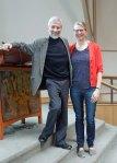 with teacher Karen Anderson