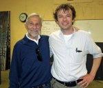 with teacher Paul Heasman