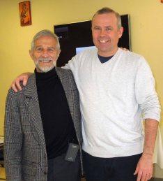 with teacher Tore Kapstad