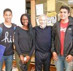 with Armony, Frantiska and Carlos