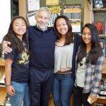 with Kathy, Lisa and Christine