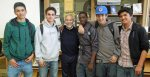 with Josue, Joseph, D'Angelo, Josh and Kazu