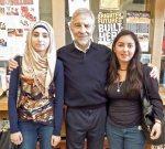 with Razan and Melanie