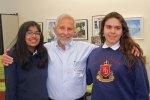 with Ayusha and Aracely