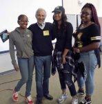 with Aniya, Jasmine and Kiara