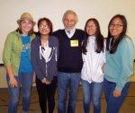 with Adara, Dan, Lauren and Jemina