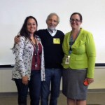 with teachers Sara Canales and Laura Knoop
