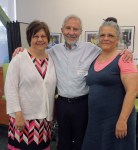 with teachers Jan Tupaj-Farthing and Rita Cortez
