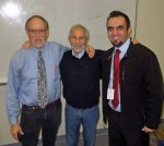 with teachers John Creger and Wali Noori