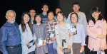 with Chinese students and teachers - Back row: Joe, Ray, Frank, Torres;  Front row: Lily Tian Jia, Sunny Huan Yaqi, Jessica L., Jane, Irene, Jessica Z.