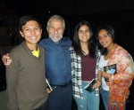 with Cesar, Laura and Luna