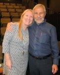 with Global Summit Coordinator Ann Vogel