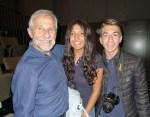 with Julianna and Juan