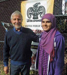 with Muniba Mushtag, Instructional Assitant