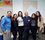 with Savannah, Emily, Emily, Selena and Olivia