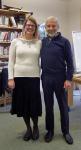 with teacher Lisa Turner