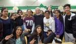 with (back row) Tvisha, Moyna, Aria, Suhani, Monica, Esha, Bryce; (front row) Anisha, Meera, Rohan