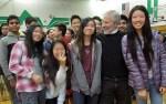 with Aditya, Michelle, Emily, Kelsie, Melody