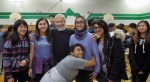 with Nicole, Angela, Nabiya, Omeesha, Tiffany, Anushka (hugging :-)