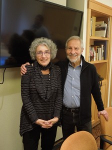 with Prof. Diane Wolf