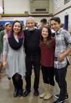 with Siri, Kristina and Sean