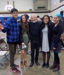 with Riley, Jolynn, Khushi and Jaskiran