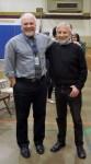 with teacher Matt Johnson