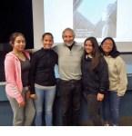 with Fabiola, Adrianna, Alyssa and Arnisha