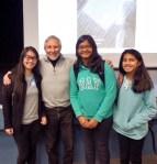 with Jennie, Mansi and Izma