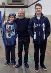 with Jordan and Austin