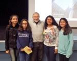 with Dania, Aleema, Arielle and Izma