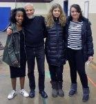 with Tinbit, Christiana and Ana