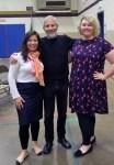 with teachers Kristy Banks and Amanda Greear