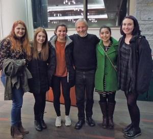 with Hannah, Hayley, Nadeen, Tiffany and Elizabeth