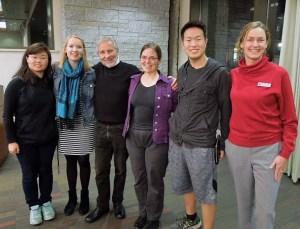 with Mary Ann Tran, Julia Thompson, Sarah Turner, Jonathan Choe, and Erin Beary-Andersen