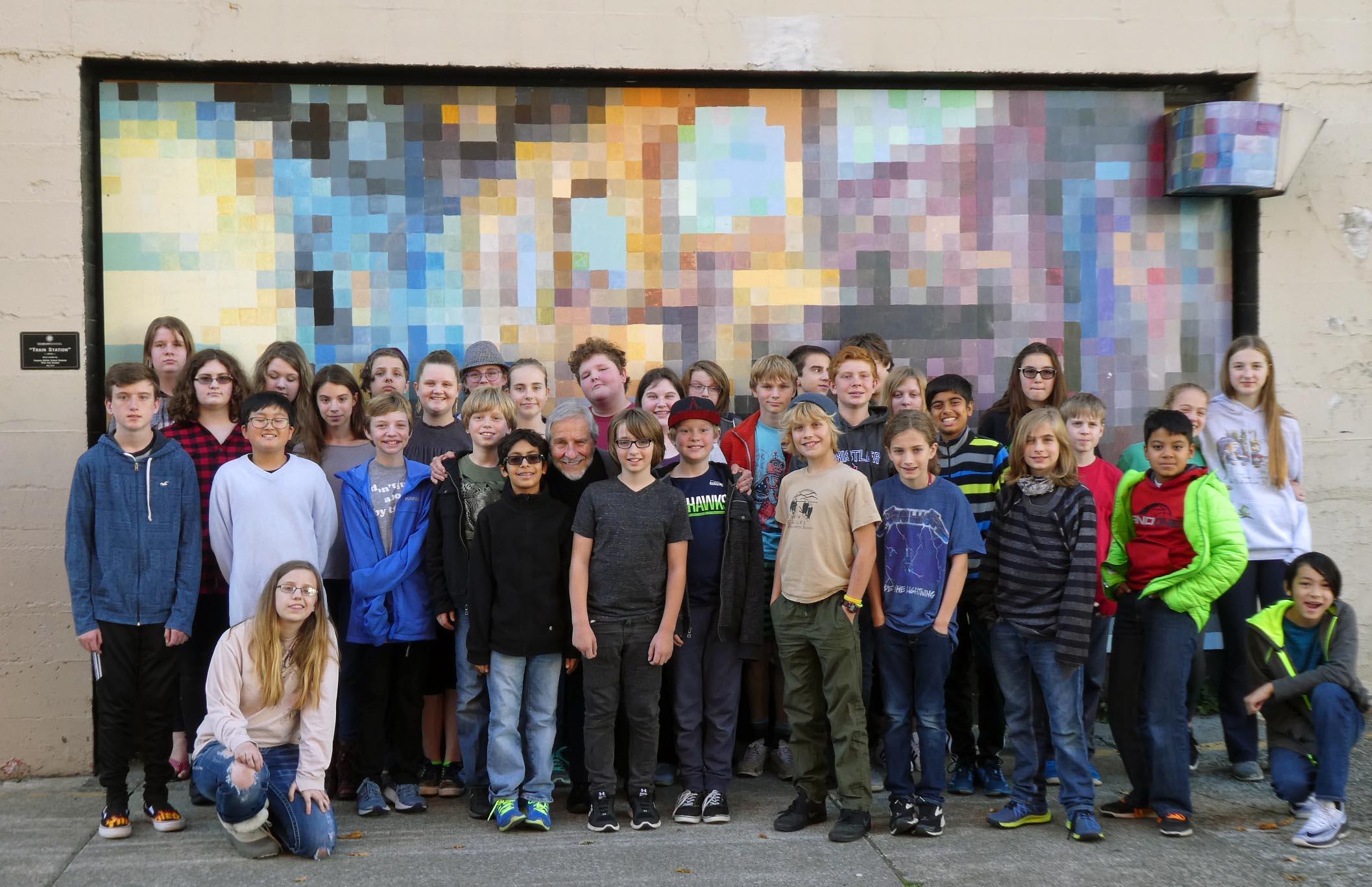 Seabury Middle School, Tacoma, WA – October 16, 2017 (PM